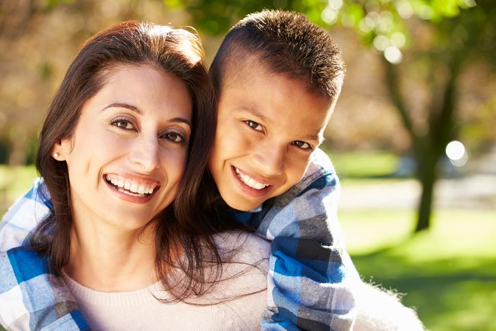 single mother adoption TX